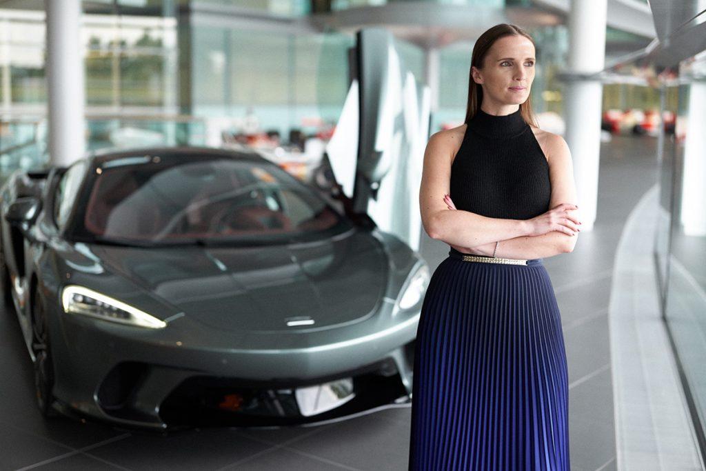 Jo Lewis of McLaren