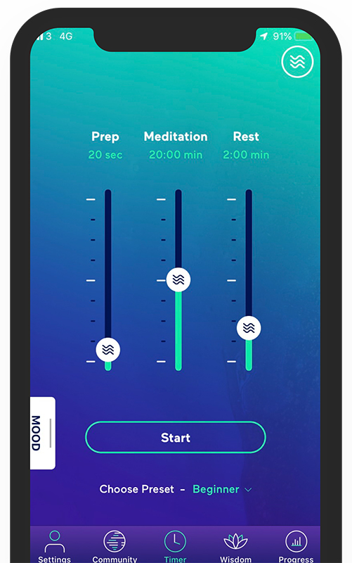 Beeja meditation app