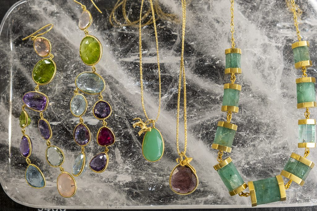 Precious jewels from GFG at The Maiyet Collective pop-up at Bicester Village