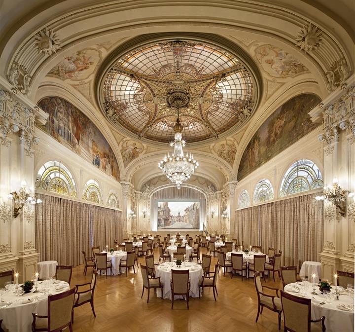 La Salle des Fetes, the Ballroom at Fairmont Le Montreux Palace