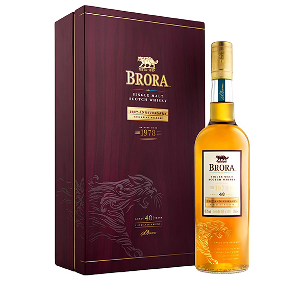 Brora, 40 Year Old, Highland, 200th Anniversary Edition